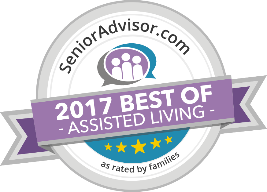 SeniorAdvisor.com Best of 2017 Award